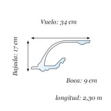 Luz Indirecta - modelo L-8