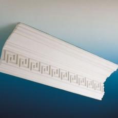 Cornisas de Escayola Ornamentadas - Serie Colonial - Modelo D9. Decoración Modernista en Barcelona. Moldes y Molduras. Restauración. Taller de Escayola JB.