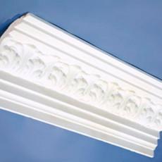 Cornisas de Escayola Ornamentadas - Serie BCN - Modelo D15. Decoración Modernista en Barcelona. Moldes y Molduras. Restauración. Taller de Escayola JB.